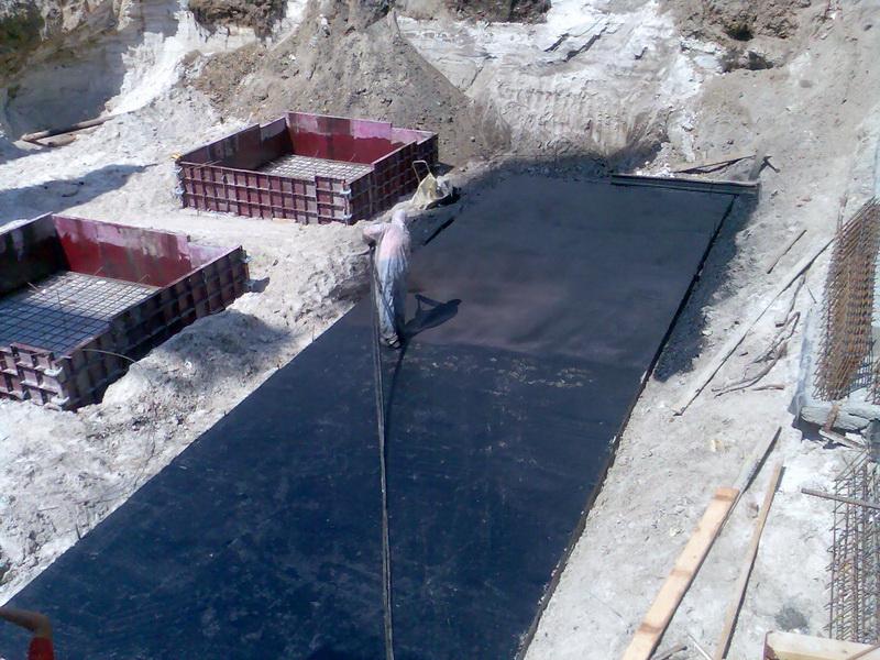 Жидкая резина погреба гидроизоляция